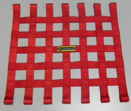 Beltenick® Fensternetz 40x40cm rot  Farbe: rot