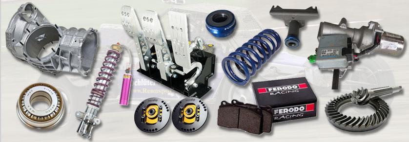 Chassis, Bremse und Antrieb